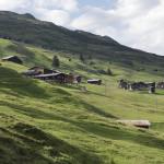 Blick auf Camana und Camaner Hütten